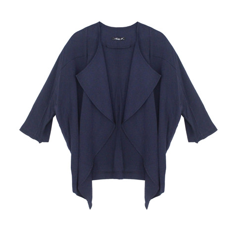 SophieB Navy Linen Light Jacket