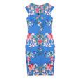 Zapara Digital Print Scuba Dress