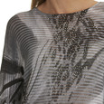 Betty Barclay Grey & Black Knitted Pullover