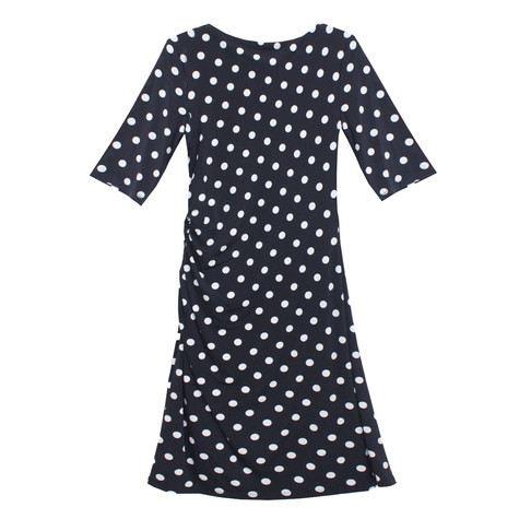 Ronni Nicole Polka Dot Pattern Ripple Effect Dress