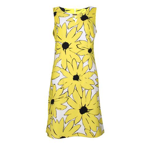 Ronni Nicole White & Yellow Sunflower Print Dress - NOW €45 -
