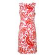 Ronni Nicole White & Orange Paisley Print Dress - NOW €45 -
