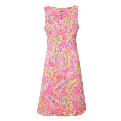 Ronni Nicole Fushia Paisley Print Dress - NOW €45 -