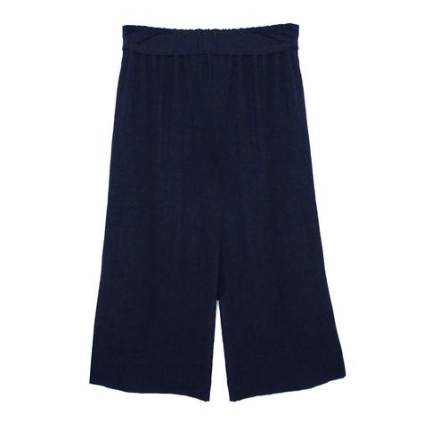 SophieB Navy Wide Leg Trousers