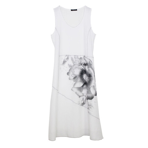 SophieB Off White Flower Detail Dress