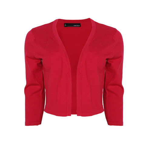 Chetta B Strawberry Short Bolero Knit