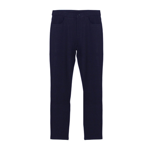 YOU YOU Dark Blue Skinny Trousers