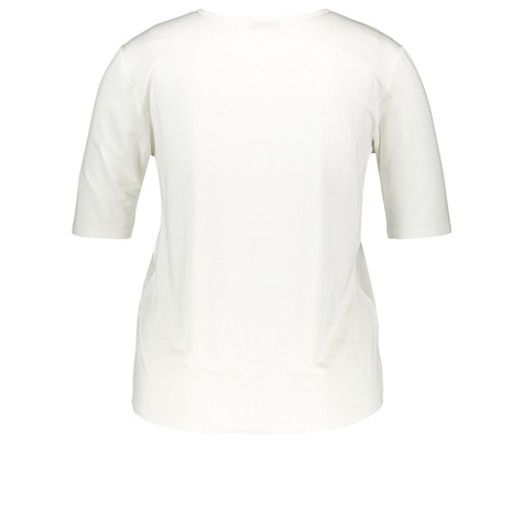 Gerry Weber City Stories Off White Satin Top