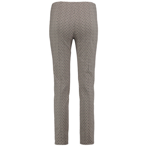 Gerry Weber City Stories Beige Pattern Trousers