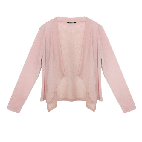 Twist Salmon Tone Cover Up Knit
