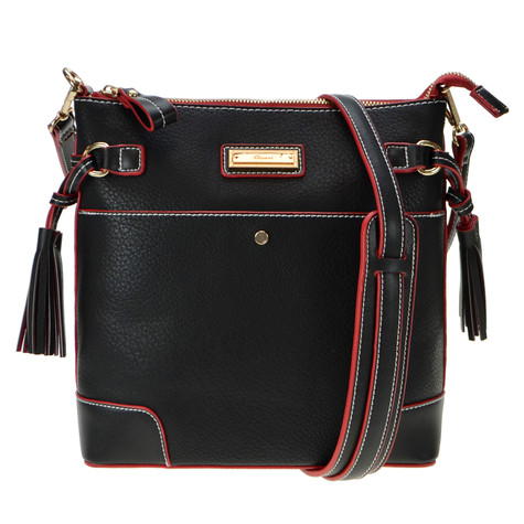 Gionni Black Cross Body Handbag