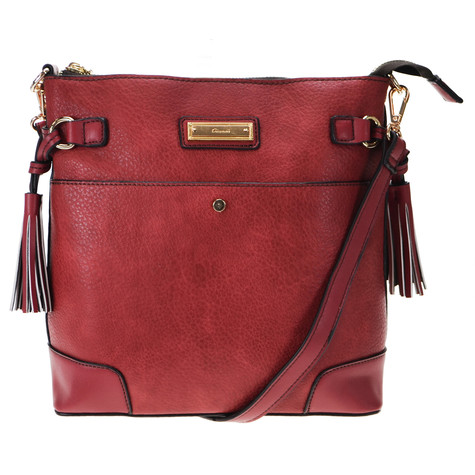 Gionni Red Cross Body Handbag