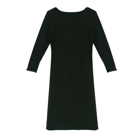 Zapara Bottle Green Buckle Detail Dress