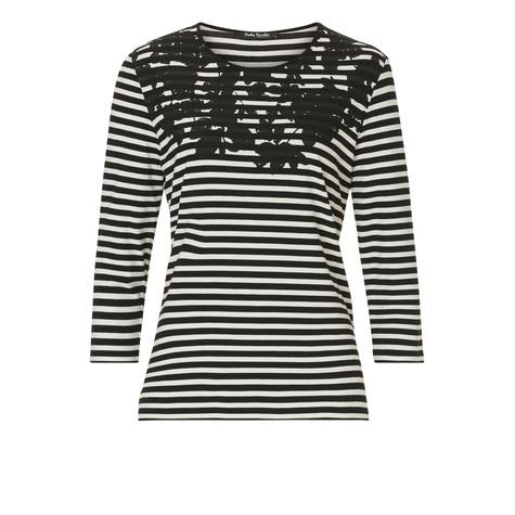 Betty Barclay Black & White Stripe Top