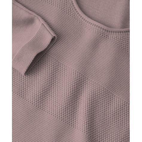 Olsen JUMPER STRUCTURED STRIPES - power pink