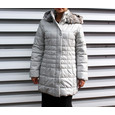 Betty Barclay Padded Beige Long Winter Hooded Coat