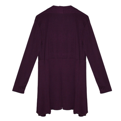 SophieB Purple Cover Up Loose Jacket