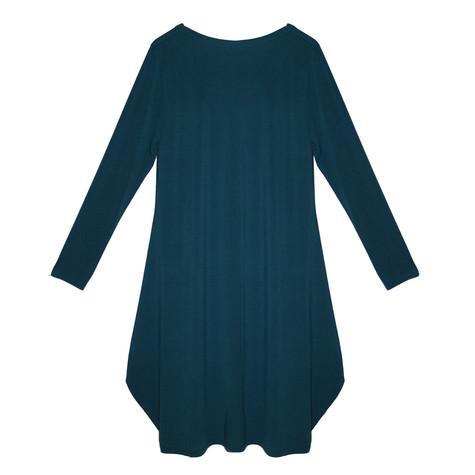 SophieB Teal Zamba Jersey Long Sleeve Dress