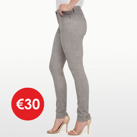 NYDJ ALINA LEGGING ORNATE PAISLEY PRINT - NOW €30