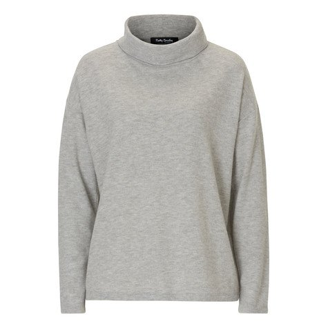 Betty Barclay Grey Loose Turtle Neck Top
