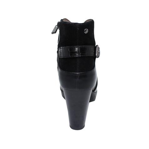 Patrizio Como Donado Black Heel Boot