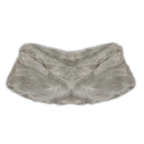 Best Angel Cream Faux Fur Stole