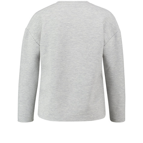 Gerry Weber Sweatshirt with glitter embellishment