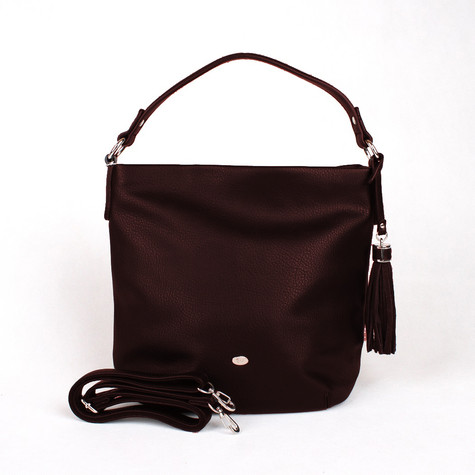Dave Jones Bordeaux Slouch Accessory Hand Bag