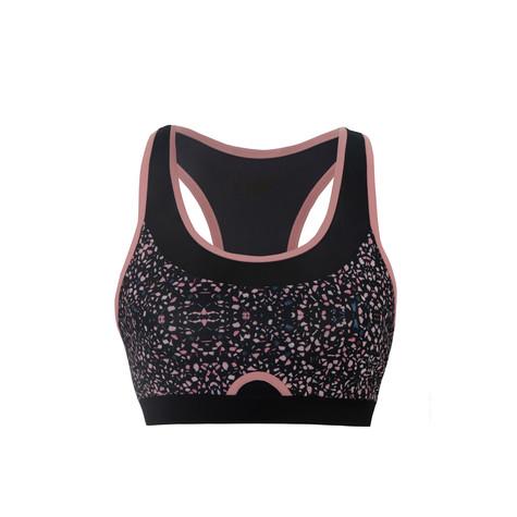 BodyByByram Pink & Speckle Iris Bra
