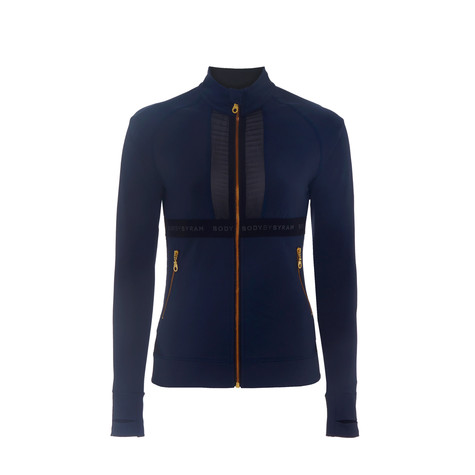 BodyByByram Navy & Black Aphrodite Jacket