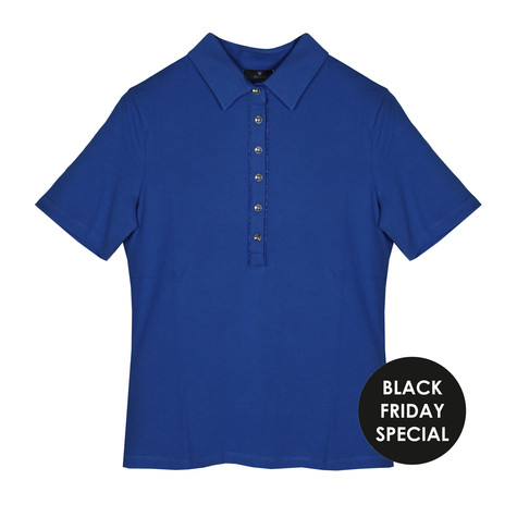 Basler Blue Polo Top - BLACK FRIDAY SPECIAL WAS €75.99 NOW €25