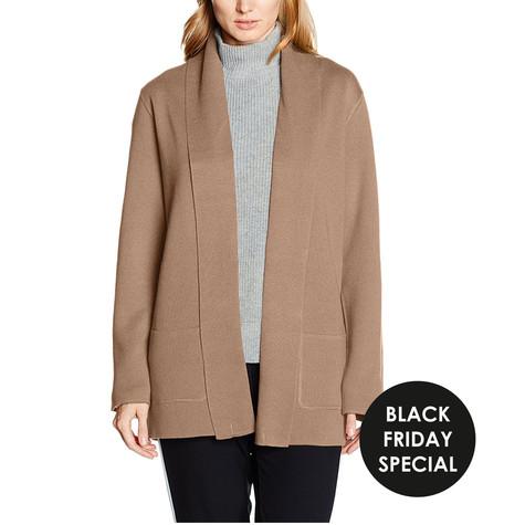 Olsen Camel Women's Long Sleeves Cardigan - NOW €25