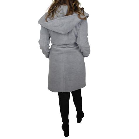 SophieB Grey Hooded Winter Coat - ONLINE SPECIAL - €75