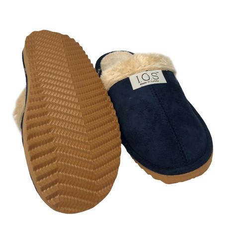 IOS Navy Luxury Slippers