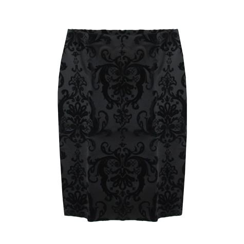 NYCC Black Velvet Skirt