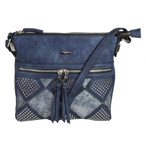 Gionni Navy Studded Accessory Bag