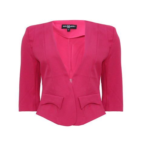 Marc M Angelo PINK BLAZER JACKET