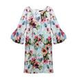 Ronni Nicole Multi Colour Floral Pattern Print Dress